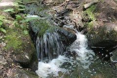 Purgatory Chasm. Waterfall at Purgatory Chasm in Sutton, Massachusetts Stock Photography