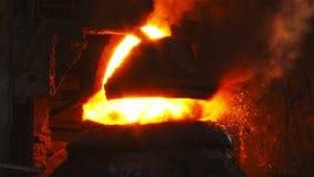 Purging metal stock video footage