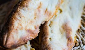 Puri georgiano de los shotis del pan imagen de archivo