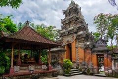 Puri Saren Agung Ubud pałac Świątynia w Bali, Indonezja Obrazy Royalty Free