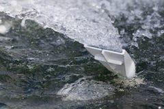 Purificación del agua Fotografía de archivo