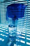 Purificare-filtro e vetro 2 Fotografia Stock