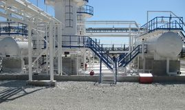 Purification alcaline de bloc d'essence et de kérosène images stock