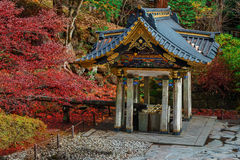 Purification area at Taiyuinbyo Shrine in Nikko, Japan Stock Photos