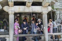 Purification japonaise images libres de droits