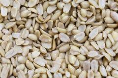 Purified arachid na rynku odpierającym w świetle dziennym fotografia royalty free
