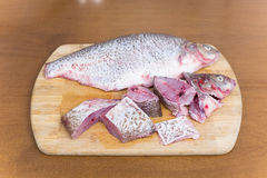 Purified fresh fish bream Royalty Free Stock Photo