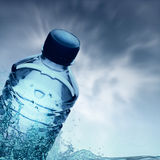 Purified spring water Royalty Free Stock Image