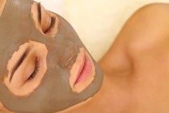 Purifying mask Royalty Free Stock Photos