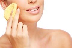 Purifying skin Stock Photo