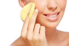 Purifying skin Royalty Free Stock Image