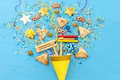 Purim świętowania pojęcie & x28; żydowski karnawałowy holiday& x29; nad drewnianym błękitnym tłem obrazy stock