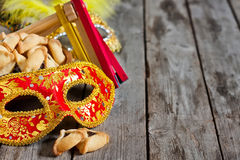 Purim background Stock Photos