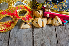 Purim background Stock Photography