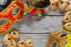 Purim bakgrund Royaltyfri Bild