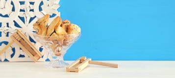 Purim celebration concept & x28;jewish carnival holiday& x29;. Stock Image