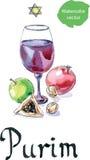 Purim celebration Royalty Free Stock Image