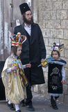 Purim dans le montant éligible maximum Shearim Image stock