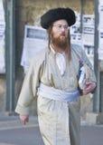 Purim em Mea Shearim Foto de Stock