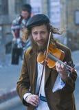 Purim en Mea Shearim Foto de archivo