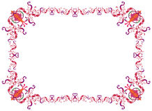 Purim frame Royalty Free Stock Photo