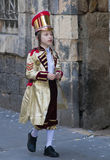 Purim in Mea Shearim Stock Photography