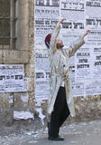 Purim in Mea Shearim Royalty Free Stock Images
