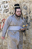 Purim in Mea Shearim Stock Image