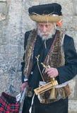 Purim in Mea Shearim Stock Images