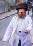 Purim in Mea Shearim Stockfotografie
