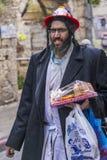 Purim in Mea Shearim Lizenzfreie Stockfotografie