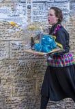 Purim in Mea Shearim Lizenzfreies Stockfoto