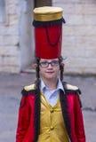 Purim in Mea Shearim Royalty Free Stock Photo