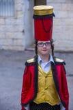 Purim in Mea Shearim Royalty Free Stock Photos