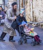 Purim in Mea Shearim Royalty Free Stock Photography