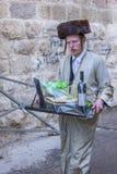 Purim in Mea Shearim Royalty Free Stock Images