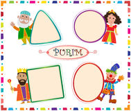 Purim Signs Royalty Free Stock Photos