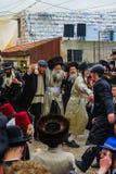 Purim 2016 w Jerozolima Obrazy Royalty Free