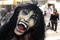 Purimviering - Adloyada-parade in Israël royalty-vrije stock foto