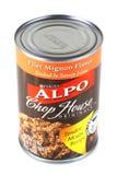 Purina Alpo, originali del ristorante di carne alla griglia Fotografie Stock