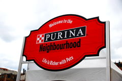 Purina Logo Stock Photography