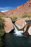Puritama Hot Springs Fotografering för Bildbyråer