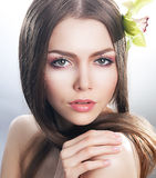 Purity And Sexiness - Skin Care Beauty Concept Royalty Free Stock Photo