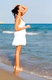Purity beach vacation Royalty Free Stock Photo