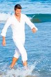 Purity beach vacation Stock Image