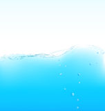 Purity water wave. Stock Images