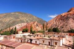 Purmamarca σε Salta στοκ εικόνες με δικαίωμα ελεύθερης χρήσης
