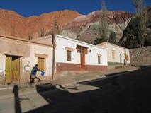 Purmamarca, Argentinië Stock Foto