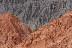 purmamarca för kull för 7 cerro colores Royaltyfri Fotografi