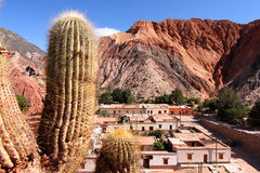 Purmamarca in Salta Stock Photo